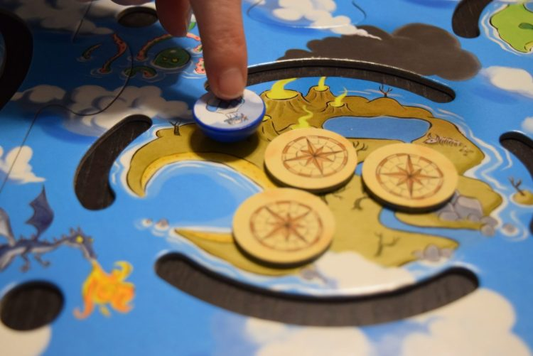 Each Isle has tokens on it, and revealing them gets you closer to discovering clues to the treasure's whereabouts.