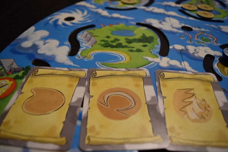 The 3 clue cards describe exactly one island, based on its features.