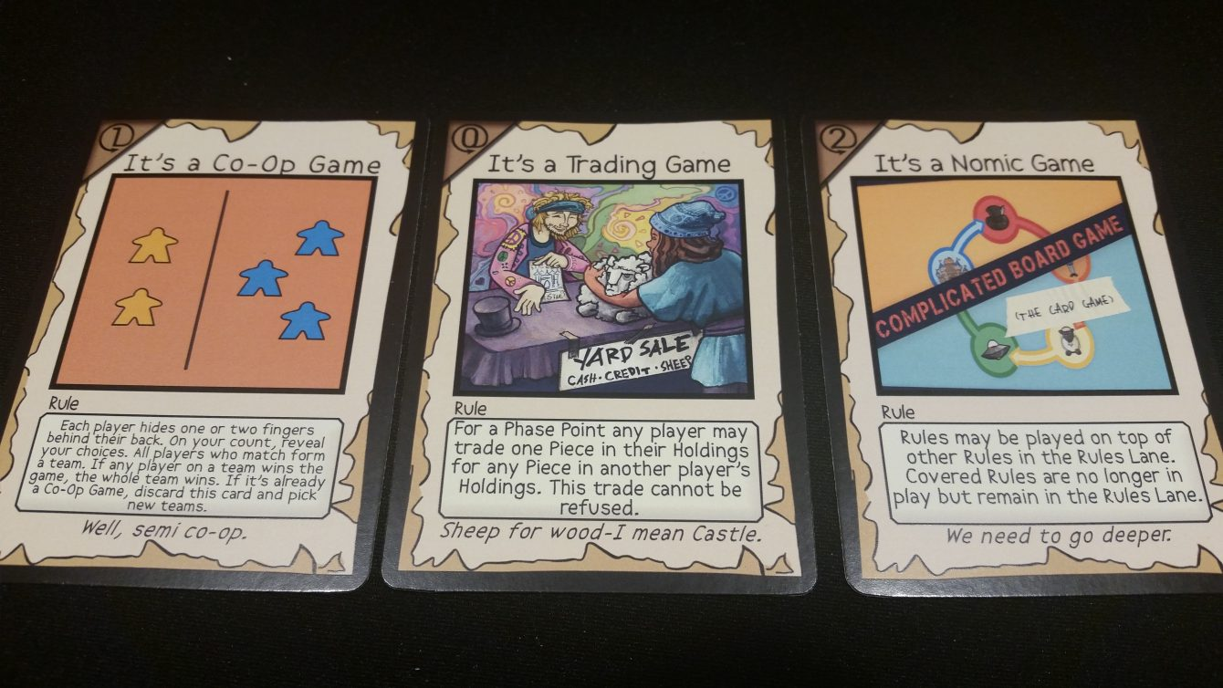 Complicated Board Game The Card Game Kickstarter Preview Gameosity