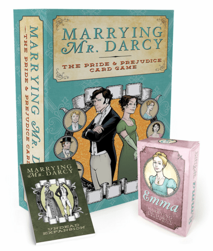 Marrying Mr. Darcy: The Pride and Prejudice Card Game by Erika Svanoe