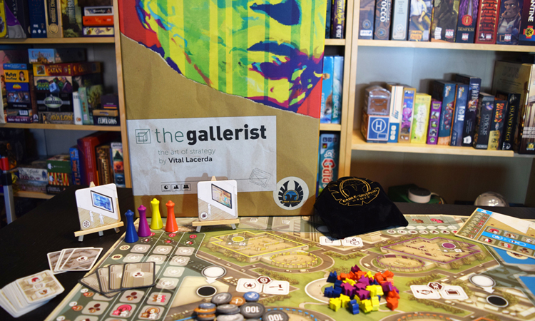 The Gallerist A Game By Vital Lacerda The Art Of: The Gallerist Review