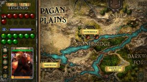 Fighting fantasy Overworld map