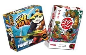 King of Tokyo: Power Up! & Ninja Taisen