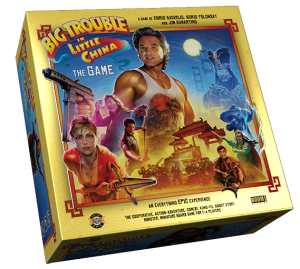 Big Trouble in Little China: The Game deluxe box