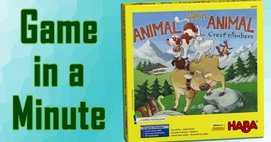 Game in a Minute: Animal Upon Animal: Crest Climbers