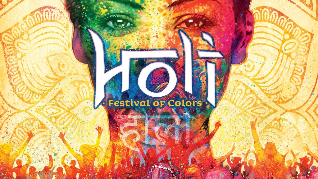 Holi: Festival of Colors Kickstarter banner
