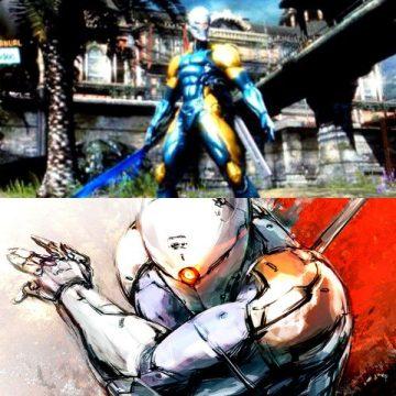Raiden vs Gray Fox