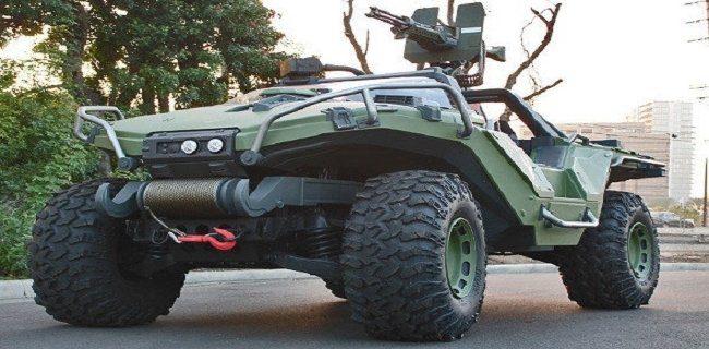 Con un vehículo asi, seguro impondriamos terror por las calles.