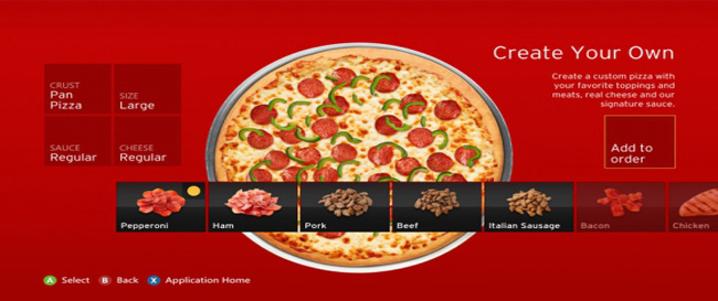 Xbox 360 Pizza Hut