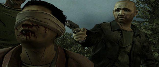 Terminar con la vida de un desconocido es algo habitual en el mundo de The Walking Dead