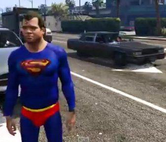 Superman llega a GTA V