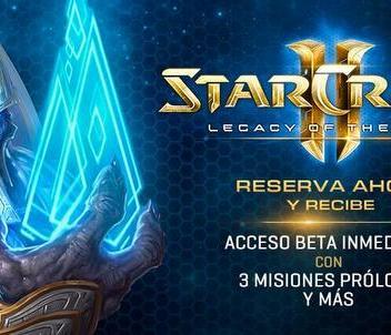 Ya puedes pre-ordenar StarCraft II: Legacy of the Void y obtener grandes beneficios