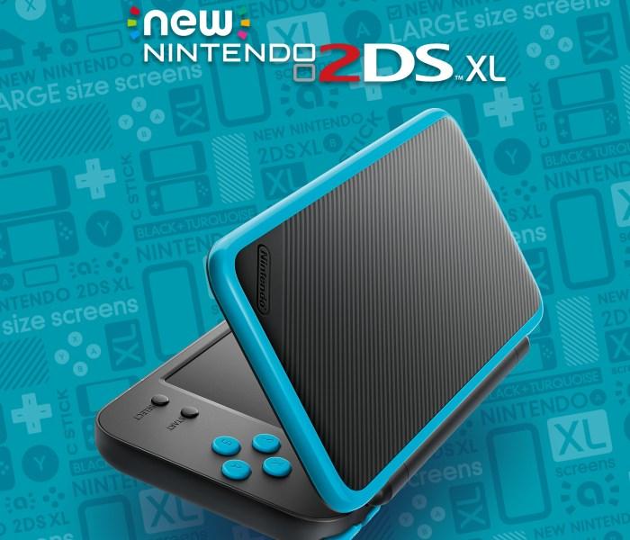 Así es la New Nintendo 2DS XL