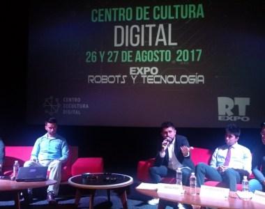 Tecnología y pelas de robots en CCD