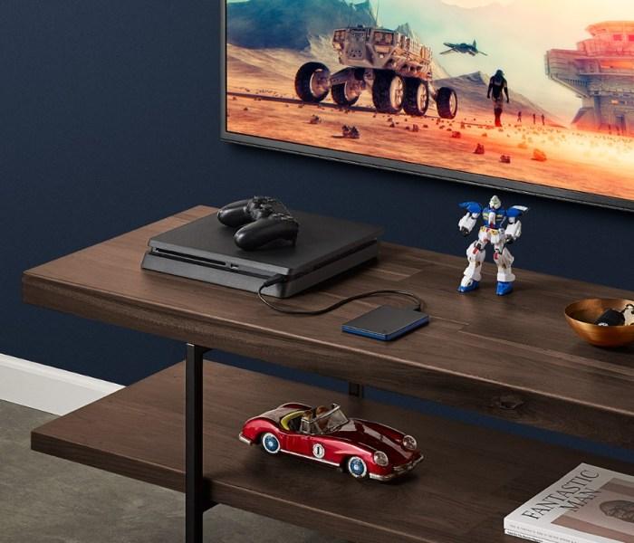 Seagate presenta su Game Drive para el PS4