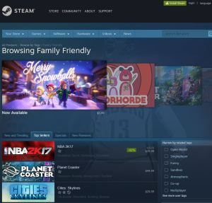 Steam for PC
