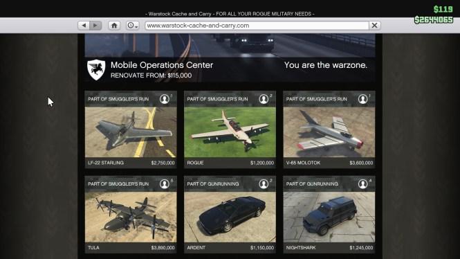 GTA Online Warstock Store