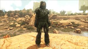 ghillie armor official ark