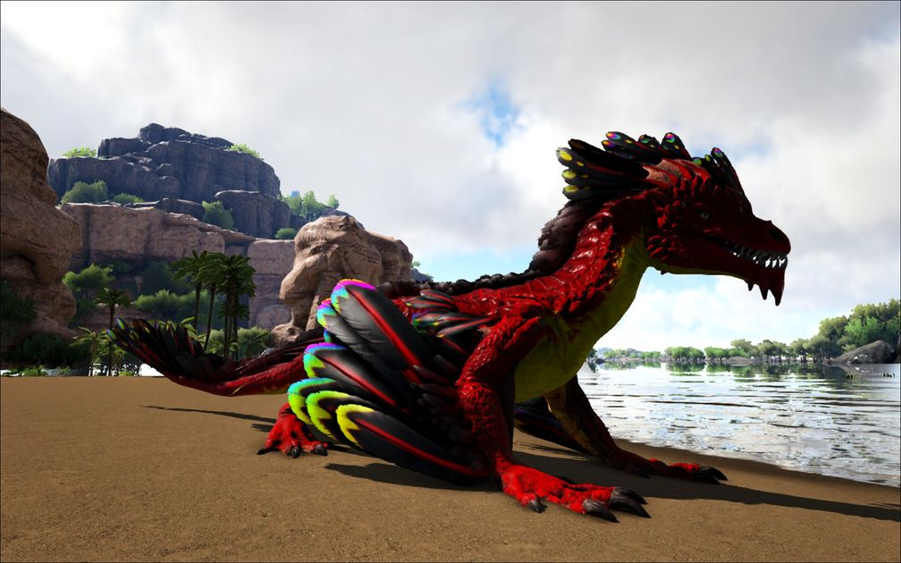 Mod Ark Eternal Eternal Alpha Rock Drake Official Ark
