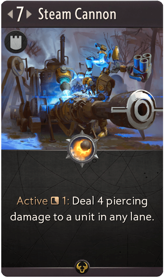steam cannon artifact the