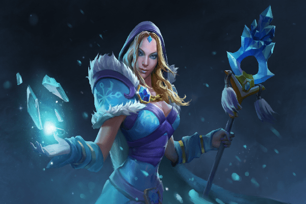 Girl Pages Of Wallpaper Blueheart Maiden Loading Screen Dota 2 Wiki