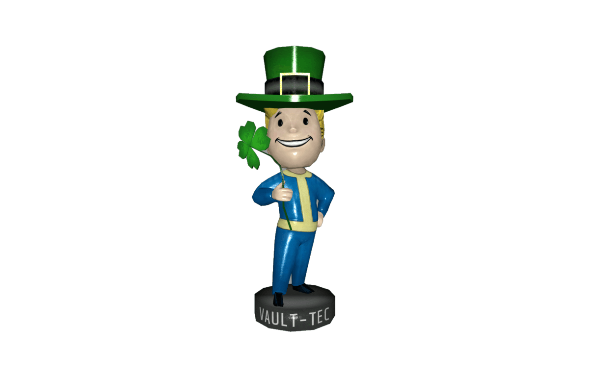 luck bobblehead fallout 4
