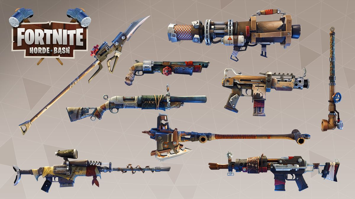 Top 10 Best Fornite Wallpapers Scavenger Weapons Fortnite Wiki
