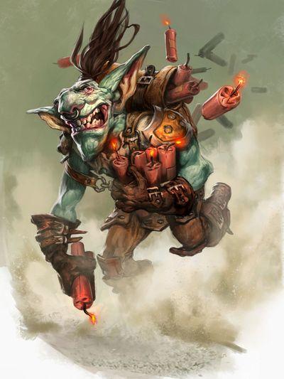 Goblin Sapper Hearthstone Wiki