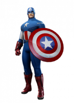 Gambar Captain America Animasi