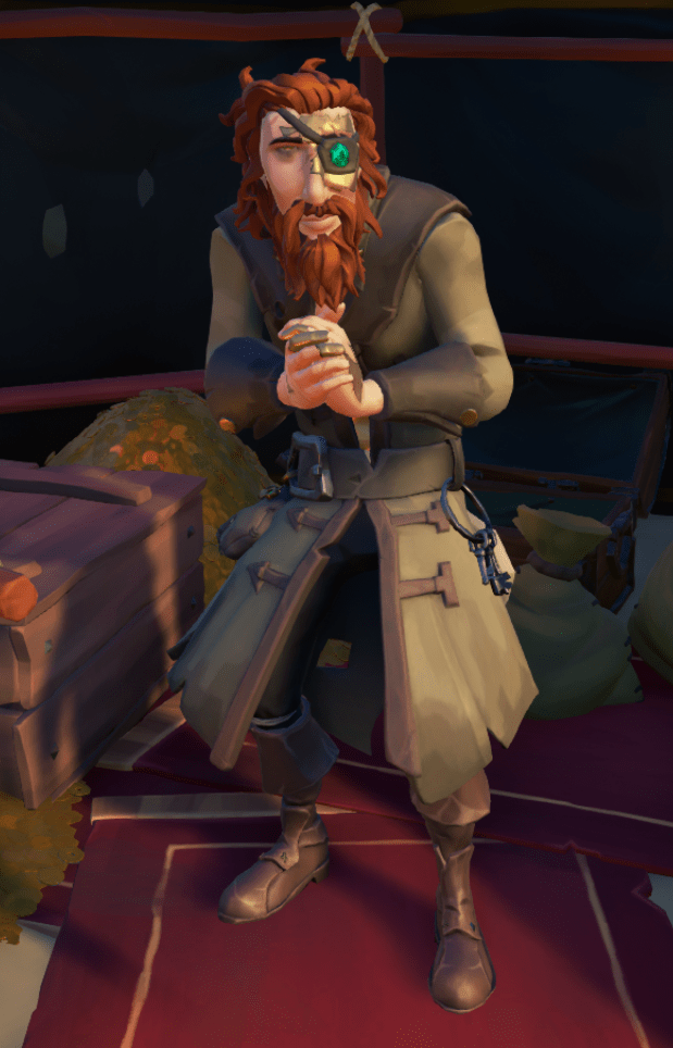 Harry the Hoarder  Sea of Thieves Wiki