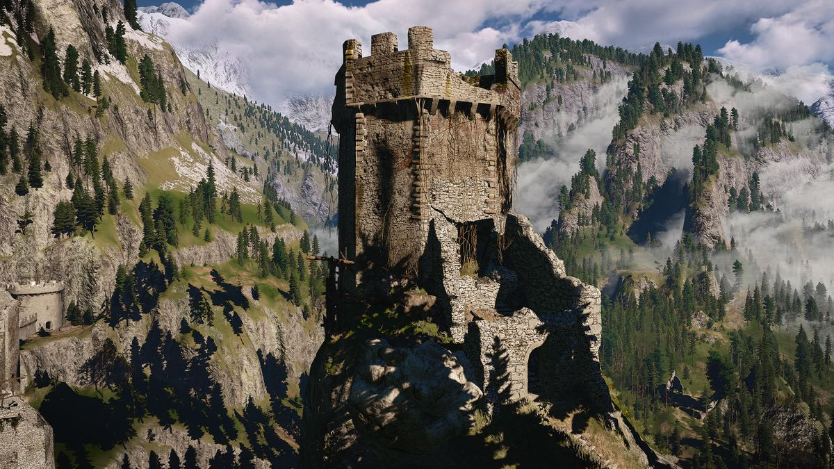 Old Signal Tower The Official Witcher Wiki