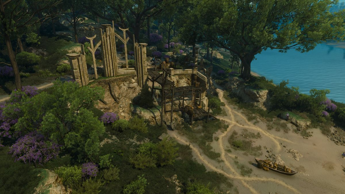 Elven Sanctuary Ruins The Official Witcher Wiki