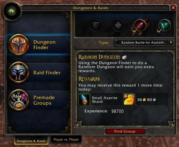 dungeon finder wowpedia your