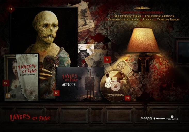 Layers of Fear Edycja Konesera