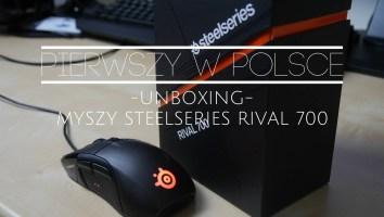 steelseries rival 700 pudełko i unboxing