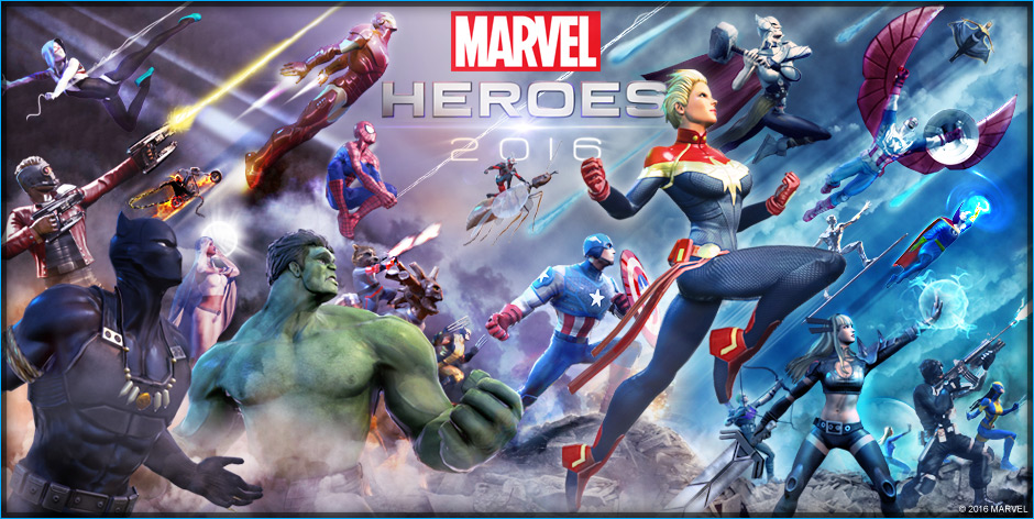 Marvel Heroes 2016 wymagania
