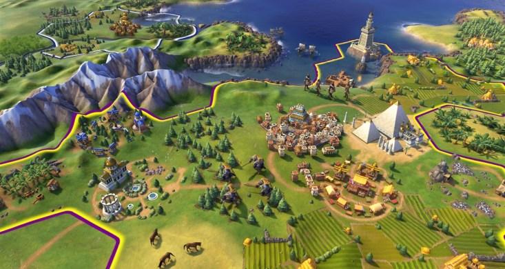 Civilization VI cywilizacje