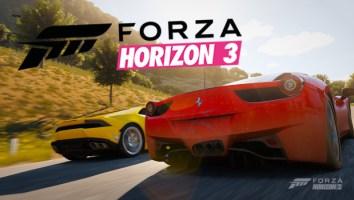 laptop do Forza Horizon 3
