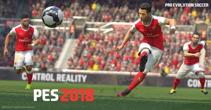 gry dla dwóch graczy, Pro Evolution Soccer 2018