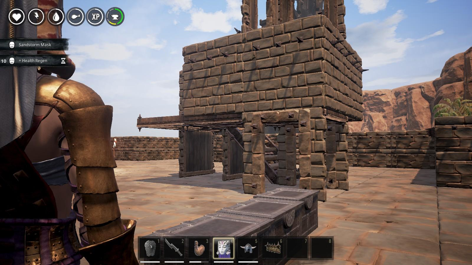 Conan Exiles  Buildings and Structural Integrity