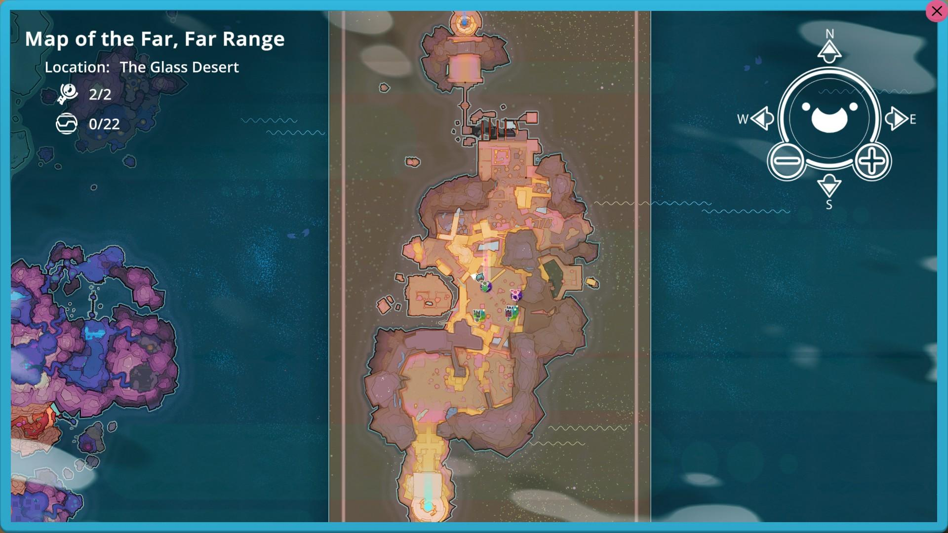 Slime Rancher Map Data Node Visual Location Guide