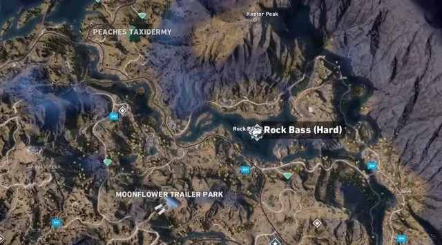 All Hard Difficulty Fishing Spot Locations