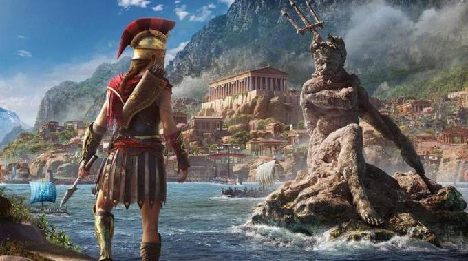 Assassin S Creed Odyssey How To Find The Poseidon S Trident Legendary Spear