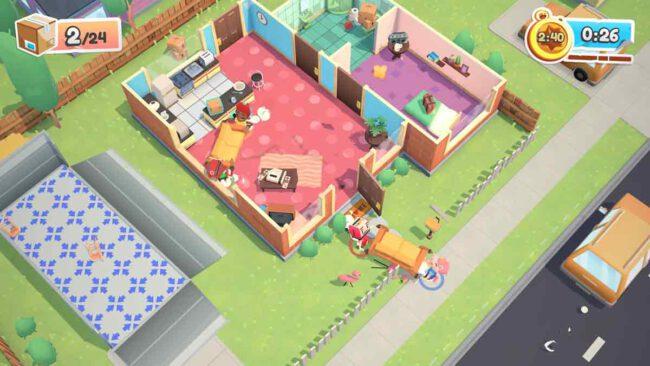 搬屋達人特訓開始 《Moving Out 胡鬧搬家》現已正式上市 - GameplayHK