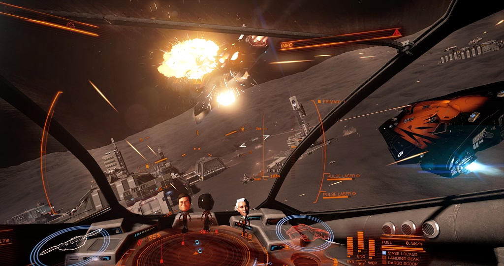 Elite: Dangerous support Oculus RiftGame playing info