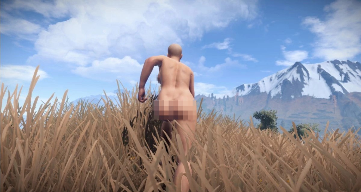 Rust game boobs naked