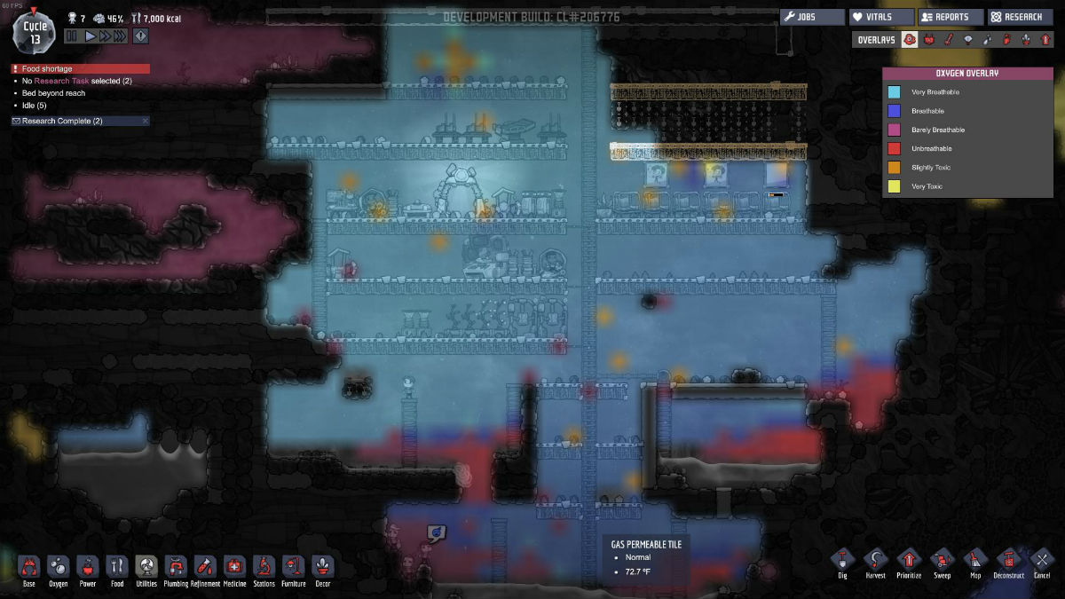 Oxygen Not Included – How to offload of chlorine gasGame playing info