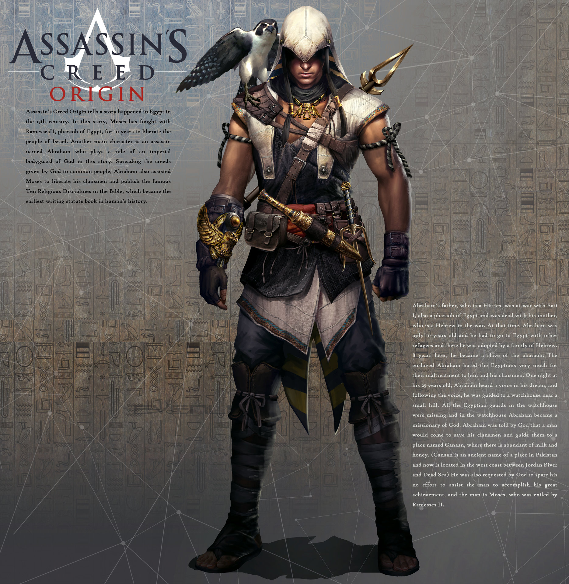 Assassin S Creed Origins Main Character