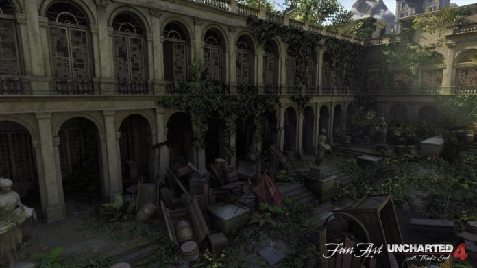 Uncharted 4 map was recreated on Unreal Engine 4Game playing info
