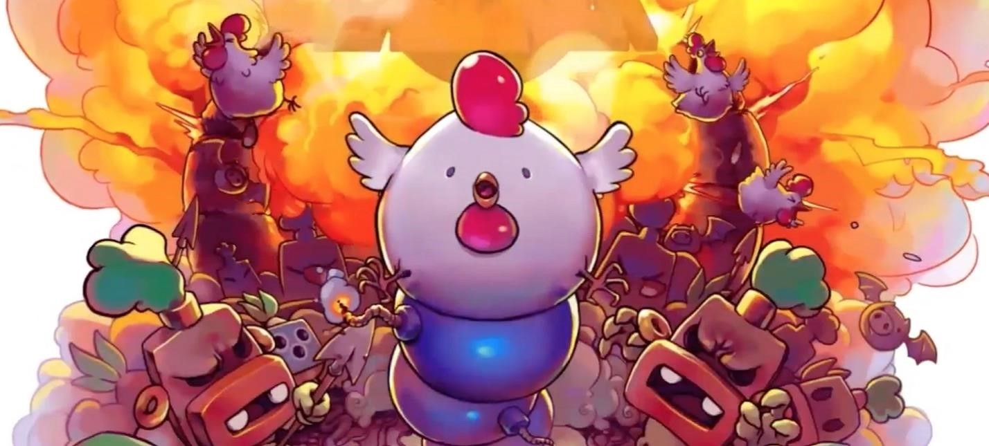 Puzzle Platformer Bomb Chicken Will Appear On The Nintendo Game Nitrome Confirmed Output Of Platform Switch Gameplay Is Tied To Solving Puzzles And Making Quick